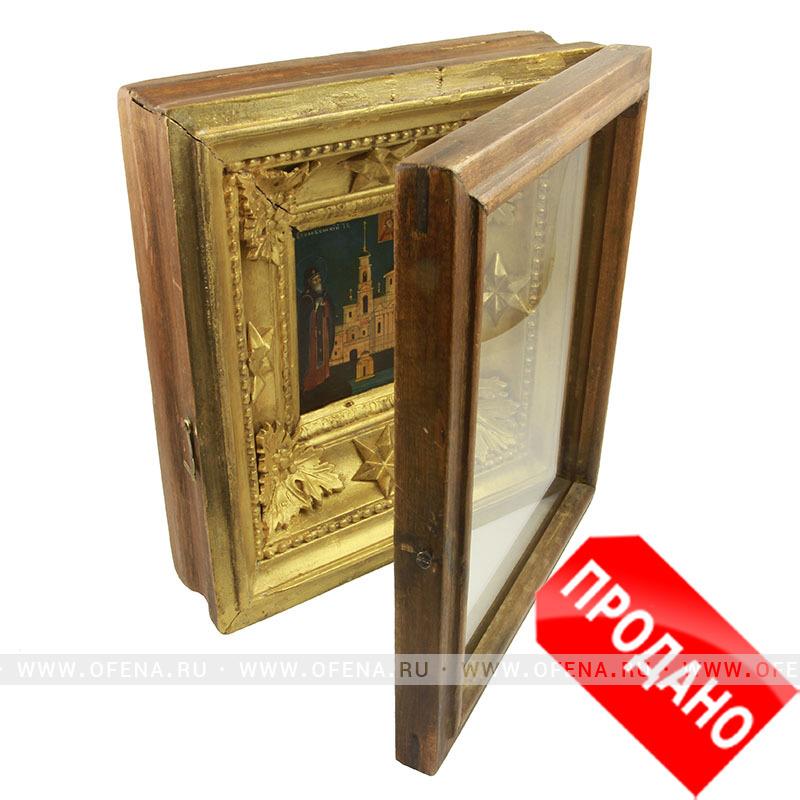 Купить редкую старинную икону святой ...: ofena.ru/ikoni-starinnie-jivopisnie/ikona-prepodobniy-nil...